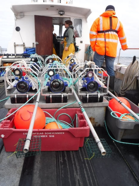 BRUVS ready for deployment at EMEC Orkney's wave test site