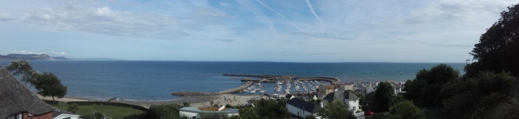 View from Lyme Regis