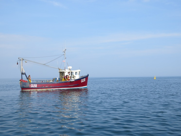 Calm day in Lyme Bay!
